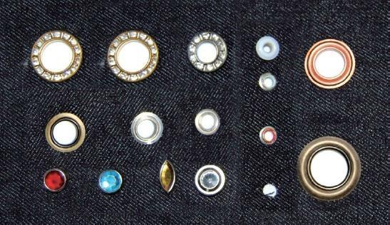 Security Single Head Pneumatic Button Attaching Machine 3