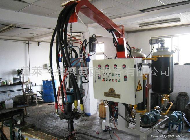 供應聚氨酯低壓發泡機  1