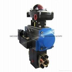 供應聚氨酯氣動高低壓換向閥