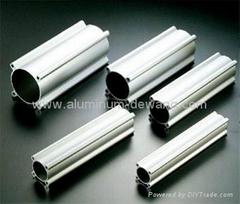 Aluminum Cylinder Extrusion Profile