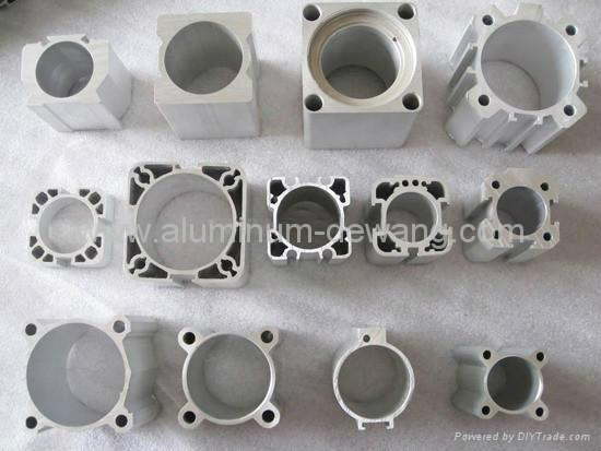 Aluminum Cylinder Extrusion Profile Cp 01 Oem China