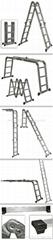Multi-purpose Aluminum Folding Ladder