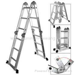 Multi-purpose Aluminum Folding Ladder  1