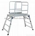 Aluminum Ladder platform