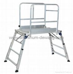 Aluminum Platform ,Aluminum Ladder platform