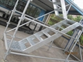 Aluminum Stair for Kwik stage scaffold/Aluminum ladder