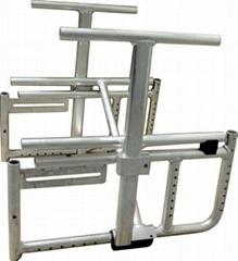 Aluminum frame for Wheelchair