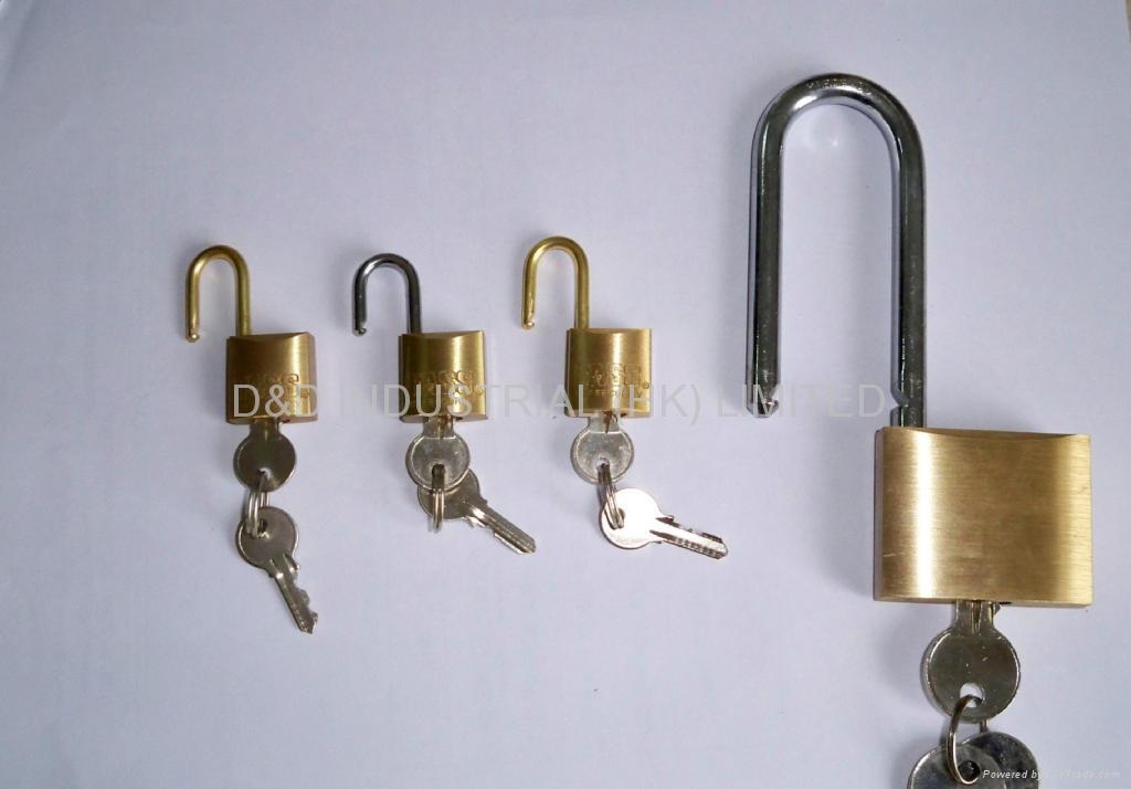 銅挂鎖 1