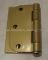 Brass hinge with ball tip CE marked UL certificate file number R38013