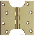 Brass hinge-parliament hinge UL listed file number R38013