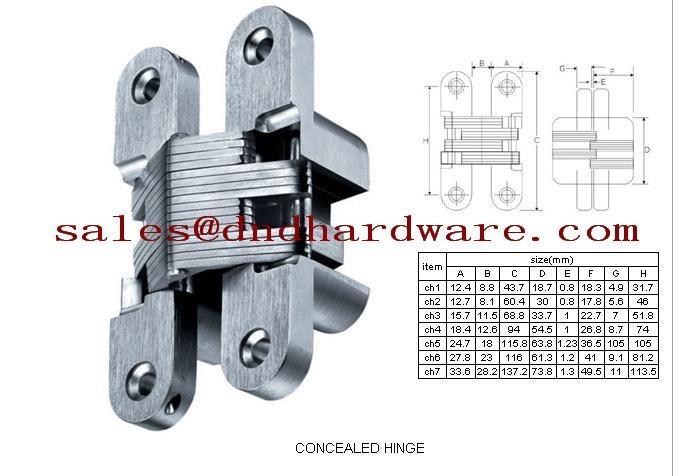 DDSS029 stainless steel flag hinge left hand 7