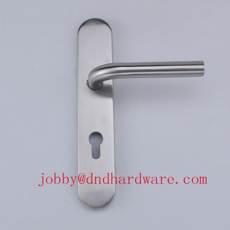 stainless steel door handle ANSI Standard