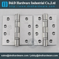 stainless steel door hinge UL listed fire rate NFPA80 BHMA