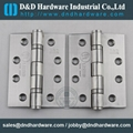 D&D Hardware stainless steel door hinge with UL listed fire rate certificate