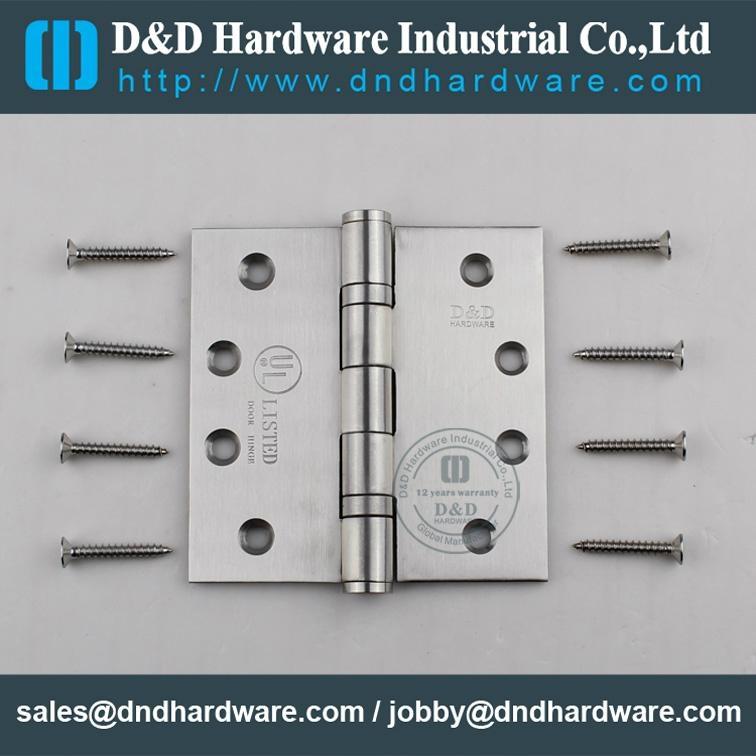 Stainless steel door hinge in CE UL cerfiticate file number R38013 13
