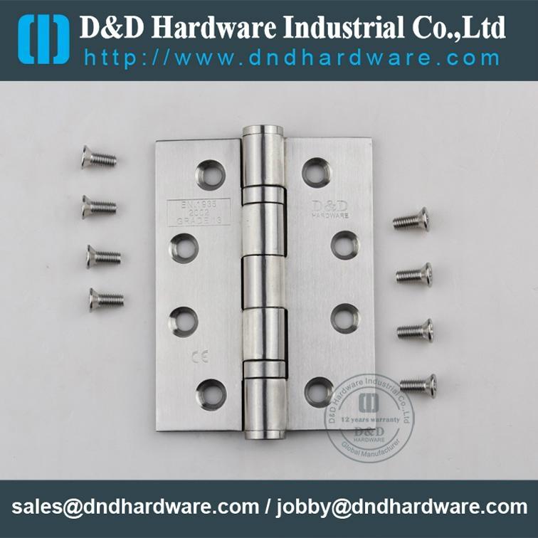 Stainless steel door hinge in CE UL cerfiticate file number R38013 14