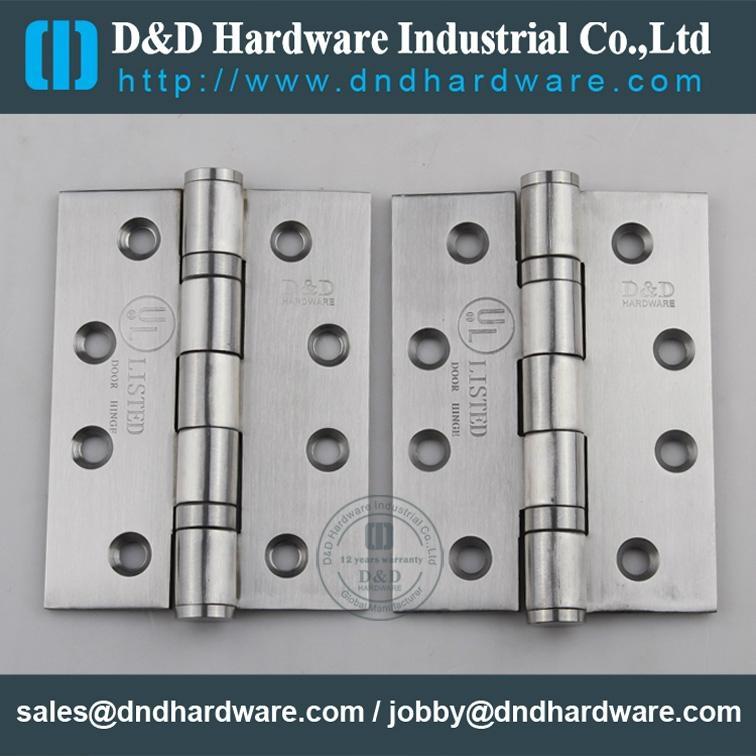 Stainless steel door hinge in CE UL cerfiticate file number R38013 15
