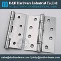 Stainless steel door hinge in CE UL cerfiticate file number R38013