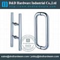 stainless steel door handle BS EN 1906 Grade3 & Grade 4