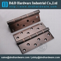 Steel hinge with Antique Cooper finish CE UL file number R38013