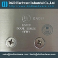 UL Listed fire rate BHMA ANSI door hinge