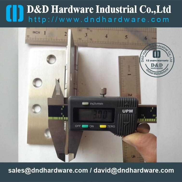 BHMA ANSI UL Listed door hinge with fire rate