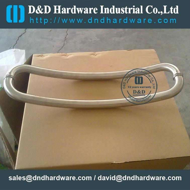 stainless steel door handle BS EN 1906 Grade3 & Grade 4