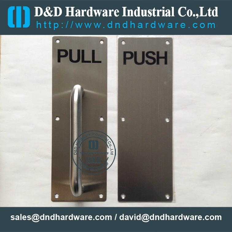 stainless steel door handle ANSI Standard
