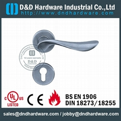 stainless steel solid door handle ANSI Standard  DDSH012