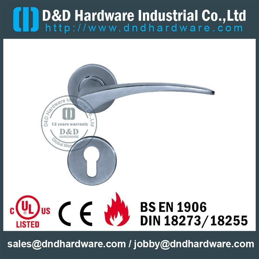 Stainless steel lever solid handle BS EN 1906 Grade3&Grade4 DDSH013