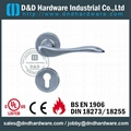 Stainess steel lever solid handle BS EN 1906 Grade3&Grade4 DDSH014
