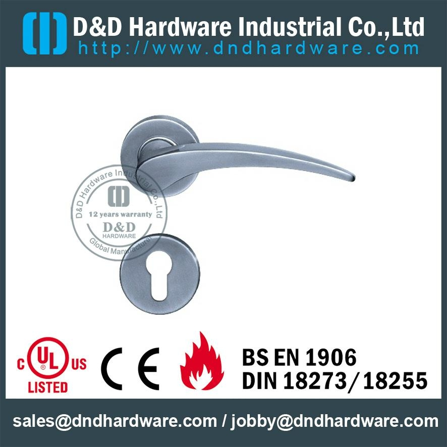 stainless steel solid door handle ANSI Standard  DDSH015