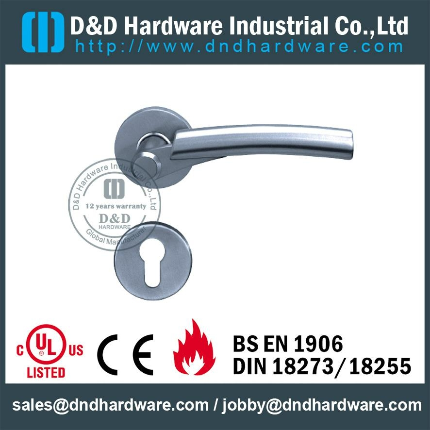stainless steel solid door handle ANSI Standard  DDSH017