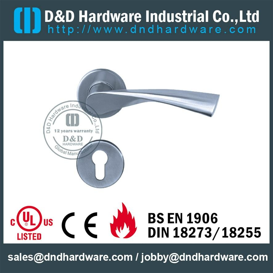 stainless steel solid door handle ANSI Standard  DDSH002
