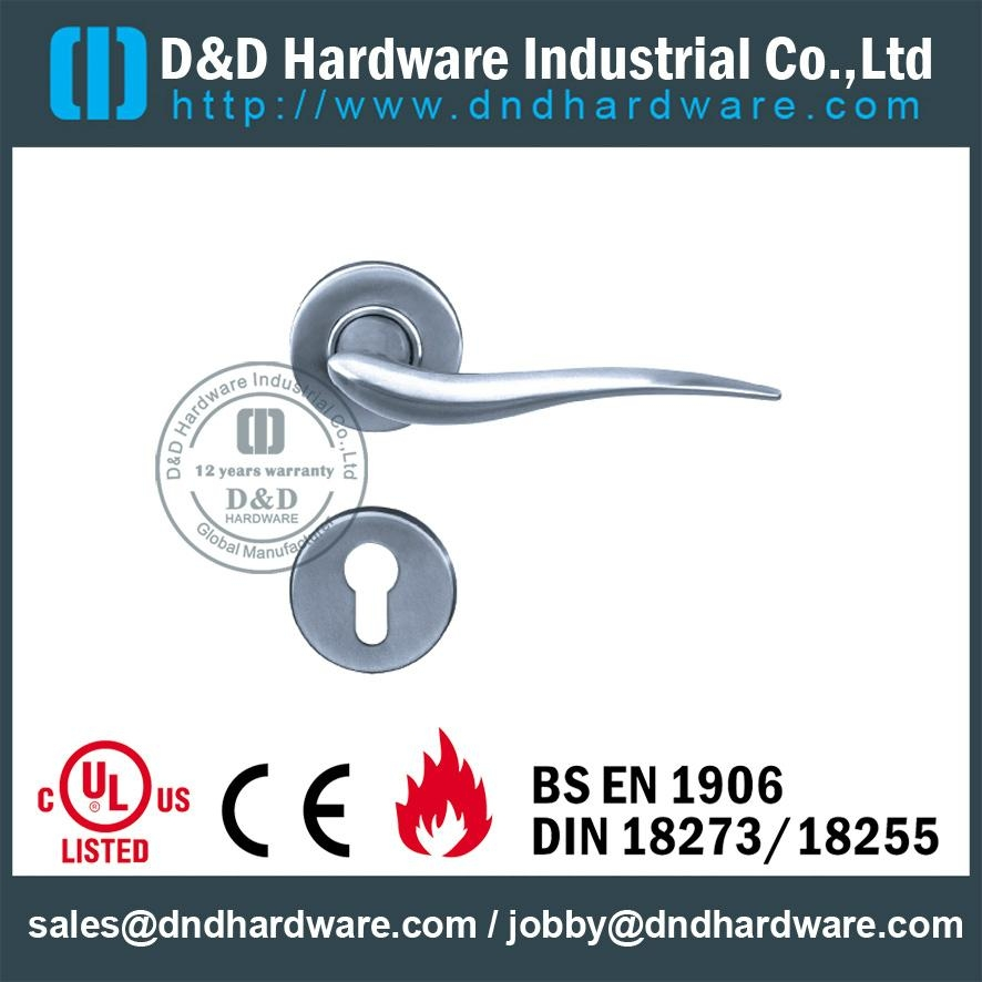 stainless steel solid door handle ANSI Standard  DDSH003