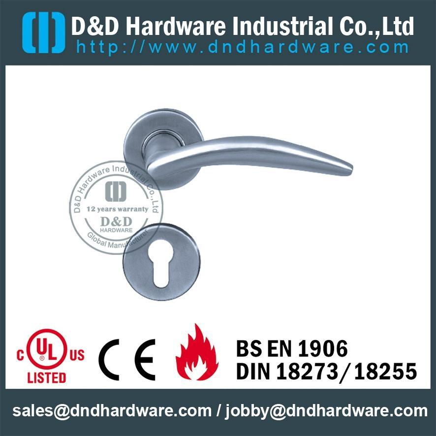 stainless steel solid door handle ANSI Standard  DDSH007