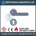 stainless steel solid door handle ANSI Standard  DDSH009