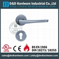 stainless steel solid door handle ANSI Standard  DDSH022