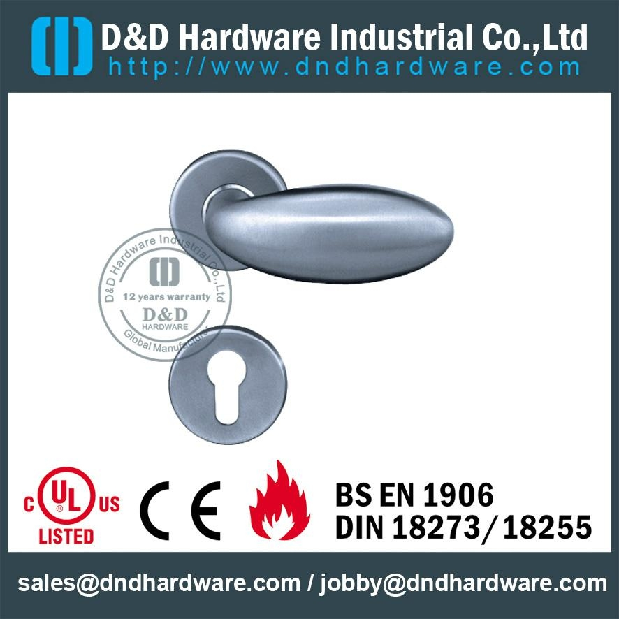 stainless steel solid door handle ANSI Standard  DDSH030