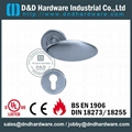 stainless steel solid door handle ANSI Standard  DDSH031