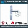 管拉手带面板不锈钢门把 BS EN 1906 Grade 3& Grade4,型号:DDTP003