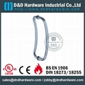 stainless steel door handle BS EN 1906 Grade3 & Grade 4,DDPH004