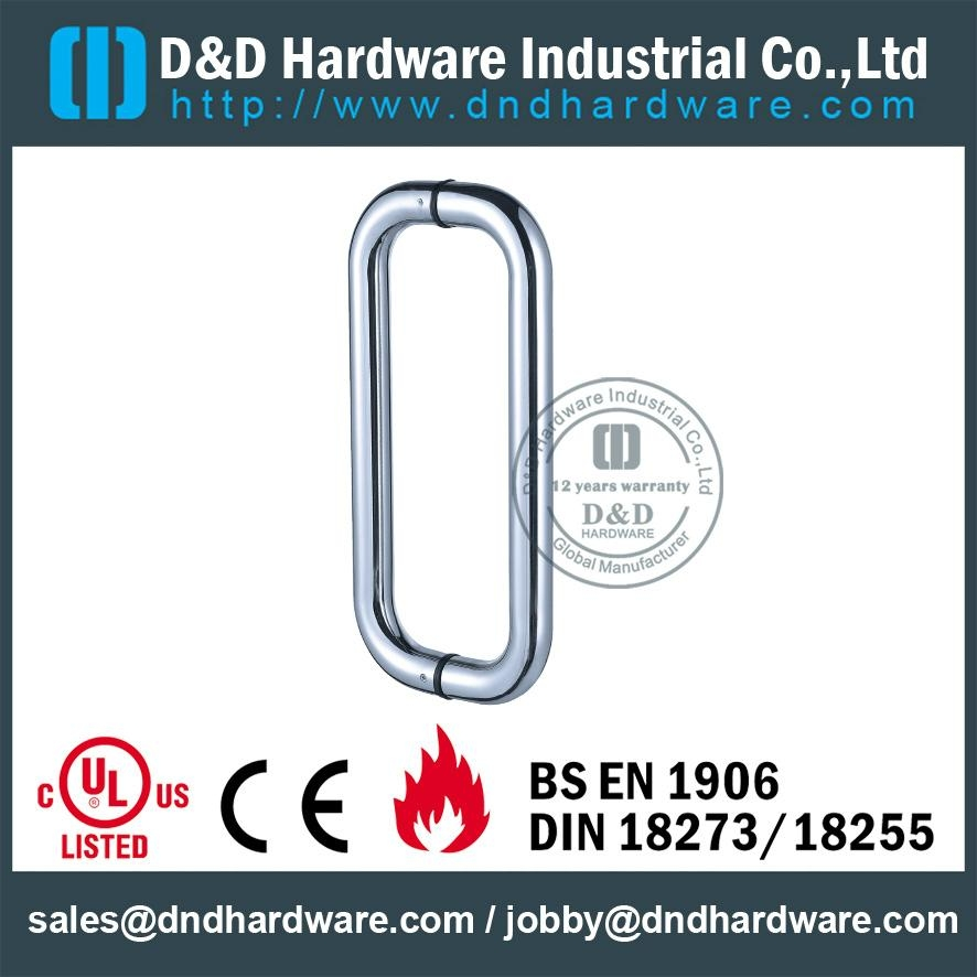 stainless steel door handle BS EN 1906 Grade3 & Grade 4,DDPH007