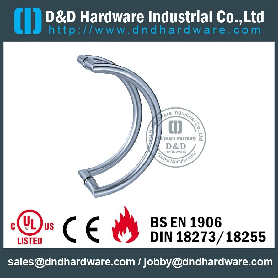 stainless steel door handle BS EN 1906 Grade3 & Grade 4,DDPH003