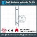 stainless steel door handle BS EN 1906 Grade3 & Grade 4,DDPH016