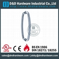 stainless steel door handle BS EN 1906 Grade3 & Grade 4,DDPH011