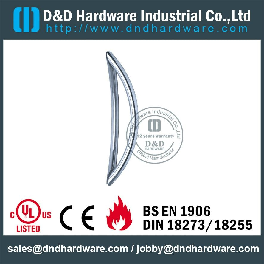 stainless steel door handle BS EN 1906 Grade3 & Grade 4,DDPH014