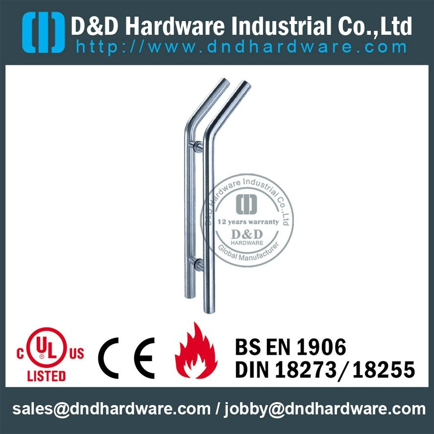 stainless steel door handle BS EN 1906 Grade3 & Grade 4,DDPH009