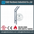 stainless steel pull handle fire rated
