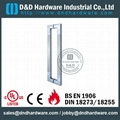stainless steel door handle BS EN 1906 Grade3 & Grade 4,DDPH015